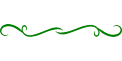 green squiggly line